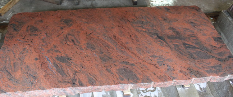 granit Multicolore orange 2715